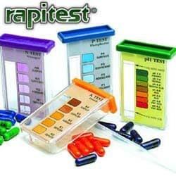 Kit Teste de Solo (40 Testes - pH, N, P e K)